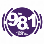 Logo da emissora Rádio Rede Aleluia 98.1 FM