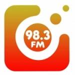 Logo da emissora Rádio Pinheira 98.3 FM