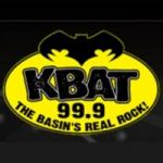 Logo da emissora KBAT 99.9 FM