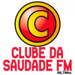 Logo da emissora Rádio Clube da Saudade 88.7 FM