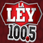 Logo da emissora KBDR 100.5 FM  La Ley