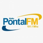 Logo da emissora Rádio Pontal 101.1 FM