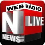 Logo da emissora Web Rádio Live News