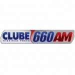 Logo da emissora Rádio Clube 660 AM
