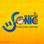Logo da emissora Rádio Sonic FM