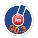 Logo da emissora Rádio Ótima 90.3 FM