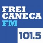 Logo da emissora Rádio Frei Caneca 101.5 FM