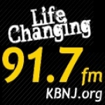 Logo da emissora KBNJ 91.7 FM
