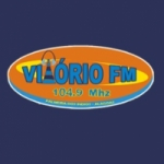 Logo da emissora Rádio Vitório 104.9 FM