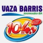 Logo da emissora Rádio Vaza Barris 104.9 FM