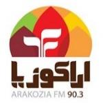 Logo da emissora Arazokia 90.3 FM