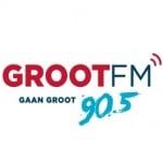 Logo da emissora Groot 90.5 FM