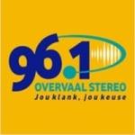 Logo da emissora Overvaal Stereo 96.1 FM