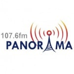 Logo da emissora Rádio Panorama 107.6 FM