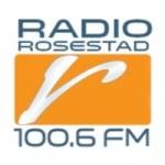 Logo da emissora Rádio Rosestad 100.6 FM