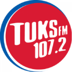 Logo da emissora Radio Tuks 107.2 FM