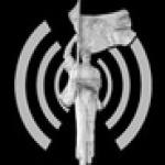 Logo da emissora Rádio Kukesi 100.4 FM