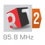 Logo da emissora Rádio Tirana 2 95.8 FM