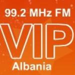 Logo da emissora Rádio VIP 99.2 FM