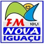 Logo da emissora Rádio Nova Iguaçu 101.1 FM