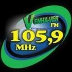 Logo da emissora Rádio Venha Ver 105.9 FM