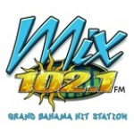 Logo da emissora Radio Mix 102.1 FM
