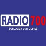 Logo da emissora Rádio 700 101.7 FM