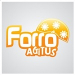 Logo da emissora Rádio Forró Agitus