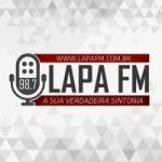 Logo da emissora Rádio Lapa 98.7 FM