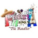 Logo da emissora Radio Fiesta 106.7 FM