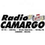 Logo da emissora Radio Camargo 100.3 FM