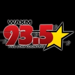 Logo da emissora WAXM 93.5 FM