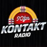 Logo da emissora Rádio Kontakt 90 FM
