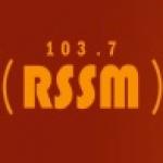Logo da emissora Rádio Sana 103.7 FM