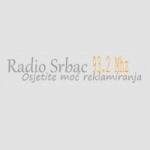 Logo da emissora Rádio Srbac 93.2 FM