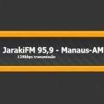 Logo da emissora Rádio Jaraki 95.9 FM