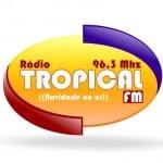 Logo da emissora Rádio Tropical 96.3 FM