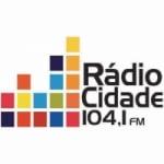 Logo da emissora Rádio Cidade Gospel 104.1 FM