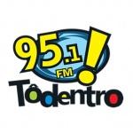 Logo da emissora Rádio To Dentro 95.1 FM