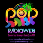 Logo da emissora Pop Mix Rádio Web