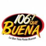 Logo da emissora KCHX 106.7 FM