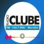 Logo da emissora Rádio Clube 100.7 FM