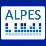 Logo da emissora Alpes Rádio