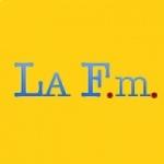 Logo da emissora Radio LA FM 106.9 FM