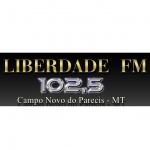 Logo da emissora Rádio Liberdade 102.5 FM