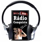 Logo da emissora Rádio Conquista Web