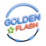 Logo da emissora Rádio Golden Flash