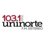 Logo da emissora Radio Uninorte 103.1 FM