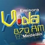Logo da emissora Radio Vida 870 AM