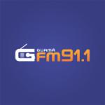 Logo da emissora Rádio Guamá 91.1 FM